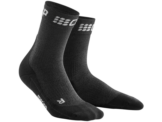 cep Winter Calcetines Mujer, grey/black